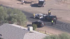 Police: 1 killed in crash involving MCSO deputy near 78th Ave. and Baseline Road