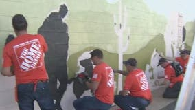 Volunteers improve Phoenix facility for veterans