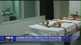 Execution of Navajo man convicted in 2 killings on hold