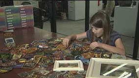 Daughter of fallen DPS trooper collects over 1,000 law enforcement patches in father's honor