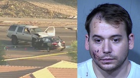 Impairment suspected in serious injury crash in north Phoenix