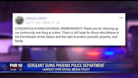 Sergeant sues Phoenix PD, claims 1st Amendment rights were violated by social media policy
