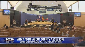 Maricopa County Board of Supervisors meet to discuss next step following arrest of County Assessor