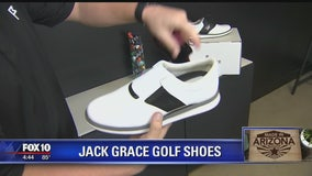 Made in Arizona: Jack Grace Golf Shoes makes shoes with a twist