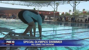 Community Cares: Swimmer competes in the Special Olympics