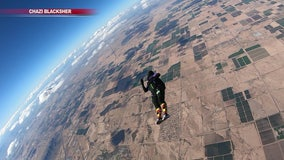 Skydivers from Arizona and other countries gather in Eloy for world championships