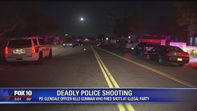 One dead in officer-involved shooting in Glendale