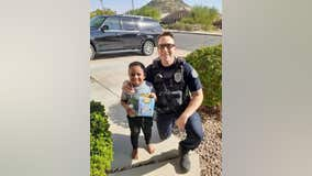 Boy, 5, dials 911 to order Happy Meal, Mesa police officer brings him one