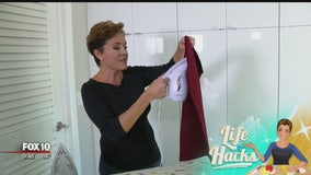 Life Hacks: How to save time with your new, but wrinkly clothes