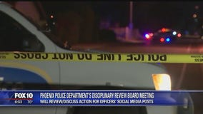Phoenix PD disciplinary review board to discuss possible action against officers for social media posts