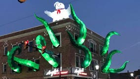 'Ghostbusters' Halloween decorations at Pennsylvania restaurant earn praise: 'Whole town is talking about it'