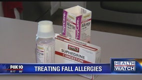 How to treat fall allergies