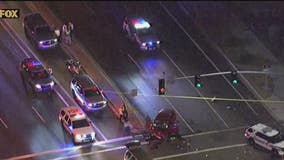 DPS trooper injured when SUV crossed intersection