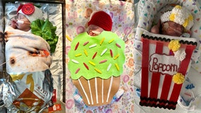 'Tiniest patients' in hospital's NICU decked out in precious costumes for Halloween contest