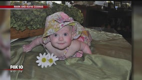 Valley family raising money for SIDS research after daughter's sudden death