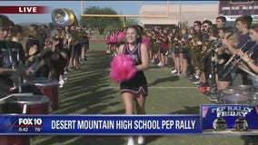 Cory's Corner: Pep Rally Friday at Desert Mountain High School