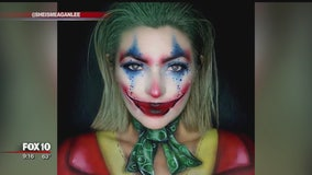 Local makeup artist creates spooky looks for 31 days of Halloween series