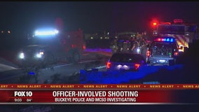 1 dead, 1 injured after officer-involved shooting with Buckeye Police, MCSO investigating
