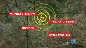 Two quakes rattle parts of West Texas