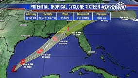 Tropical Storm Nestor expected to form in gulf, head for Florida