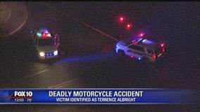 Police: Impairment suspected in deadly motorcycle crash, victim identified