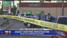Phoenix Police looking for suspect after fight led to deadly shooting near convenience store