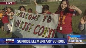 Back to School: Sunrise Elementary School
