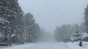 Forecasters: Snowfall to stymie travel in northern Arizona