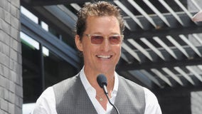 Matthew McConaughey to call 'Play Ball' before World Series Game 7