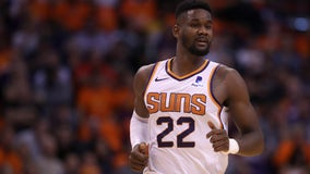 Fans react to news of Suns center Deandre Ayton's suspension