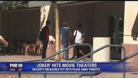 """Extra security at theatres for """"Joker"""" movie opening"""