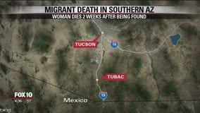 Mexican woman dead after being found in southern Arizona