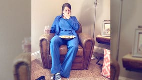 Photo taken by sister of exhausted nurse goes viral