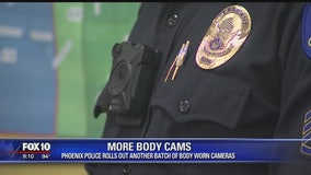 More Phoenix Police officers will be equipped with body cameras