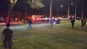 Mesa PD: Shooting victim suffers life-threatening injury near Pioneer Park, suspect search continues