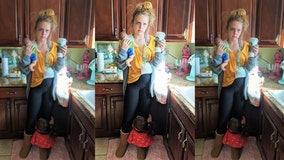 'NAILED IT': Teen with 8 siblings dresses as 'tired mom' for Halloween