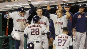 Houston Astros defeat Washington Nationals 4-1 in Game 3 of World Series; Nationals still lead 2-1