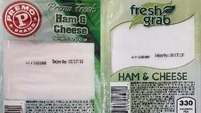 Recall: Ham and cheese wedge sandwiches recalled due to potential Listeria contamination
