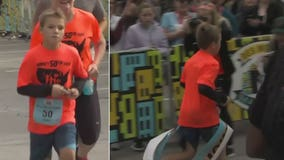 11-year-old boy ran half marathon in all 50 states, may be youngest person in world to complete feat