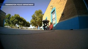 New Mexico officer resigns after 'excessive force' on 11-year-old girl who allegedly took too much milk