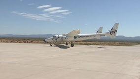 In the New Mexico Desert, Virgin Galactic gets ready to carry passengers to space and back