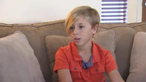 Instead of gifts, Chandler boy is asking for donations to amputee foundation on his birthday