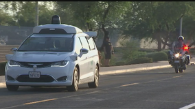 Autonomous car tester offers guide for first responders