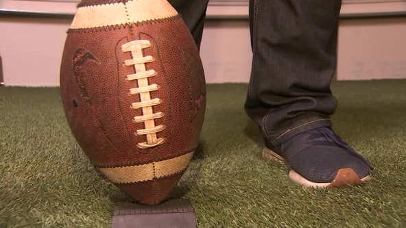 Father and son teach athletes what it takes to be a kicker