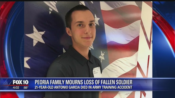 Peoria soldier killed in training accident at Fort Stewart