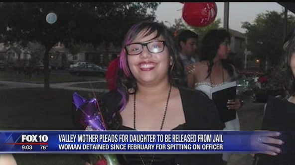 Valley mother pleads for daughter to be released from jail
