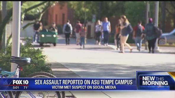 ASU student sexually assaulted after meeting suspect online, police say