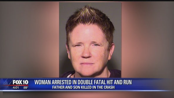 Driver arrested, accused of killing father and son in hit and run crash in Chandler