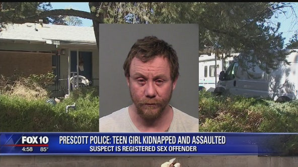 Prescott Police: Registered sex offender accused of kidnapping, assaulting teenage girl