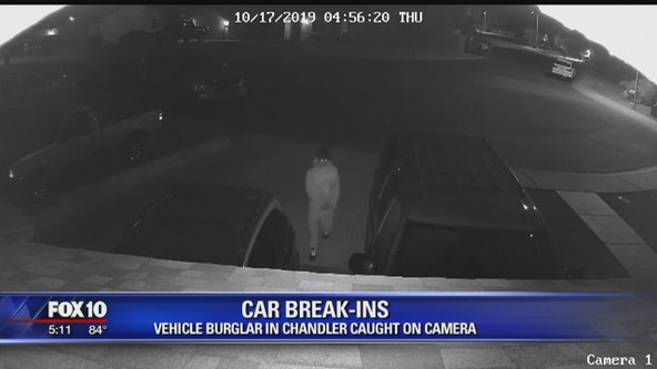 Chandler PD: Suspect crashes into home, tries to open car doors in neighborhood